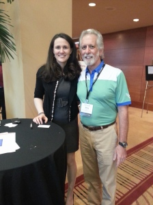 Me with Liz Murray at the Noel-Levitz Conference (July 2014)