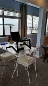 "My Cedar Key ""office"" for four days."