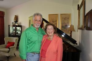 Steve with Dr. Kinne